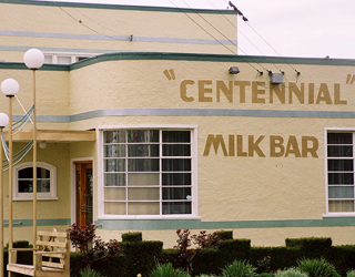 Ranfurly 1930s 'Art Deco Museum' In the former Centennial Milk Bar next door to the Ranfurly Station (now the Ranfurly i-Site).