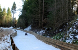 Naseby - where you can ride the Southern Hemisphere's first and only ice luge