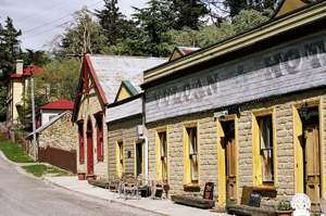 Take a leisurely stroll through gold mining history at St Bathans